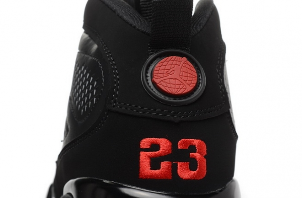 Air Jordan 9 Retro Shoes Black