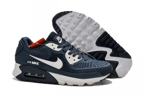 Air Max 90 Shoes Blue/white red