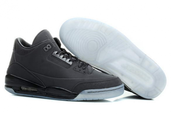 Air Jordan 3 Retro 5Lab3 Shoes black